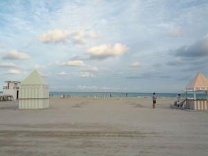 夕方のSouth Beach 涼しい