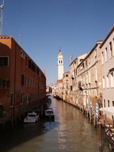 ヴィネツィアの街並み